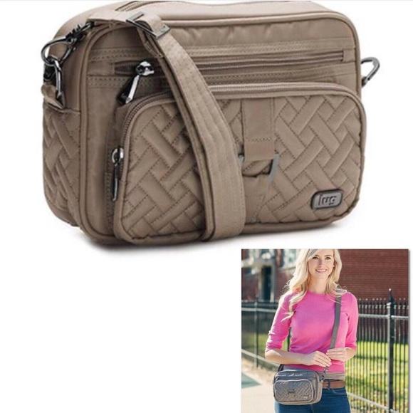 870fb12c31 lug Handbags - Lug Carousel convertible crossbody belt travel bag